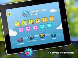 "Appen ""Math- multiplicationstable"""