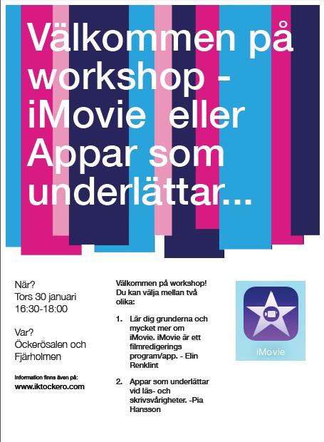 Workshop iMove och appar