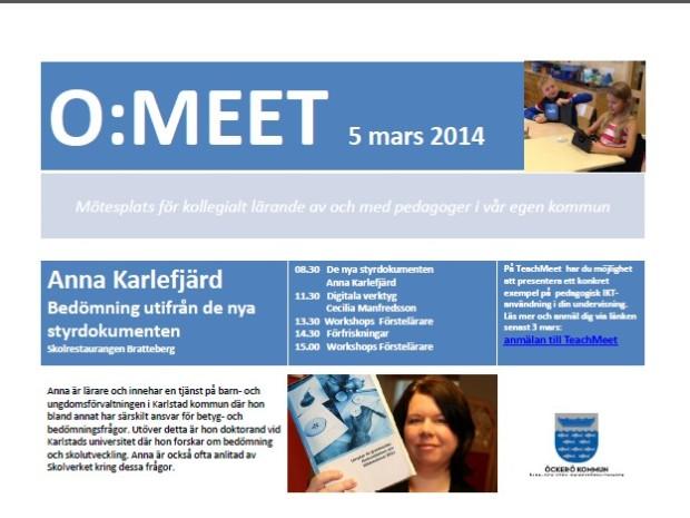 meet 5 mars 2013