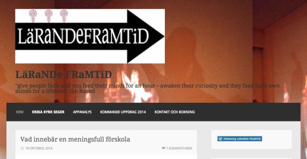 """Bloggen """"LäRaNDe FRaMTiD"""""""